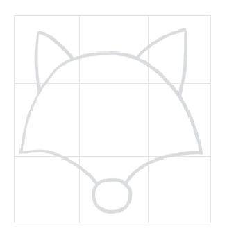 怎么画狐狸简笔画|狐狸的简笔画教程-儿童学狐狸简笔画; 狐狸头部简笔