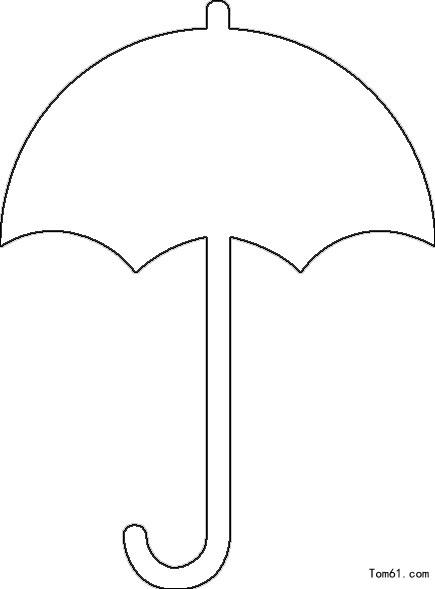 伞-简笔画图片-儿童资源网手机版