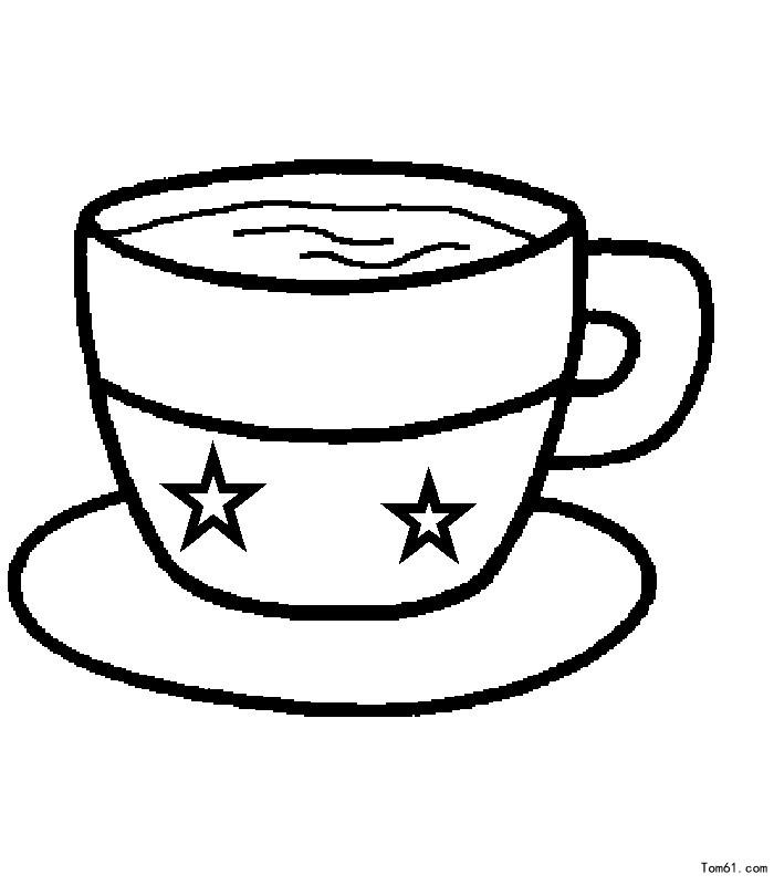 杯子-简笔画图片-儿童资源网手机版图片
