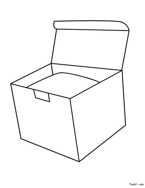 箱子-简笔画图片-儿童资源网手机版