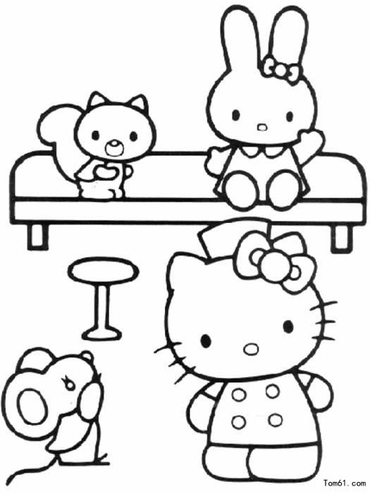 kt猫-简笔画图片-儿童资源网手机版