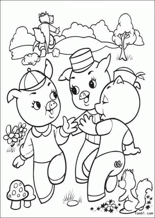 小猪简笔画图片大全