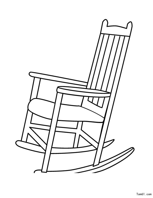 椅子-简笔画图片-儿童资源网手机版