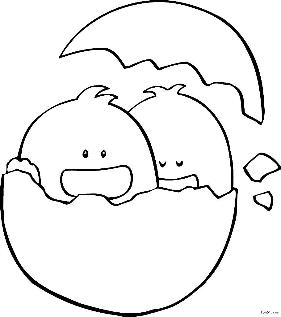 小鸭-简笔画图片-儿童资源网手机版