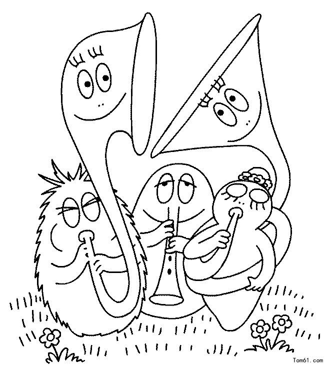 巴巴爸爸-简笔画图片-儿童资源网手机版