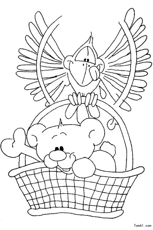 小熊-简笔画图片-儿童资源网手机版