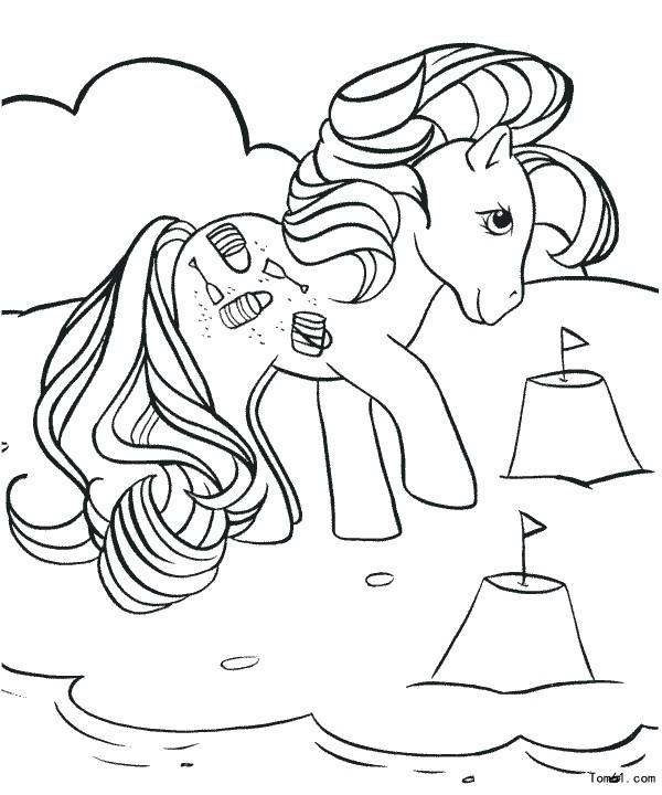 小馬寶莉-簡筆畫圖片-兒童資源網手機版