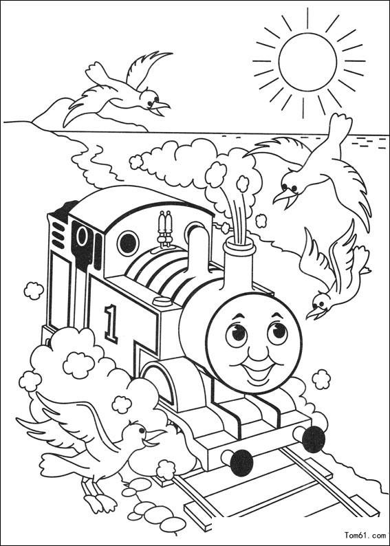 [图片]托马斯小火车图片