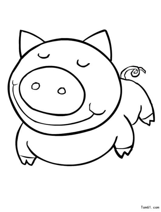 动物线稿插图