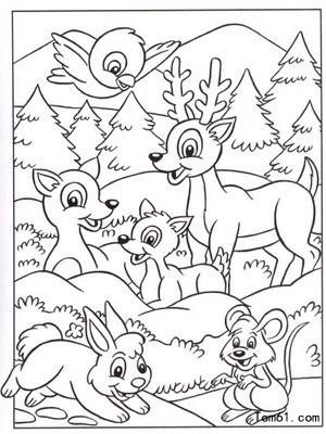 动物园-简笔画图片-儿童资源网手机版