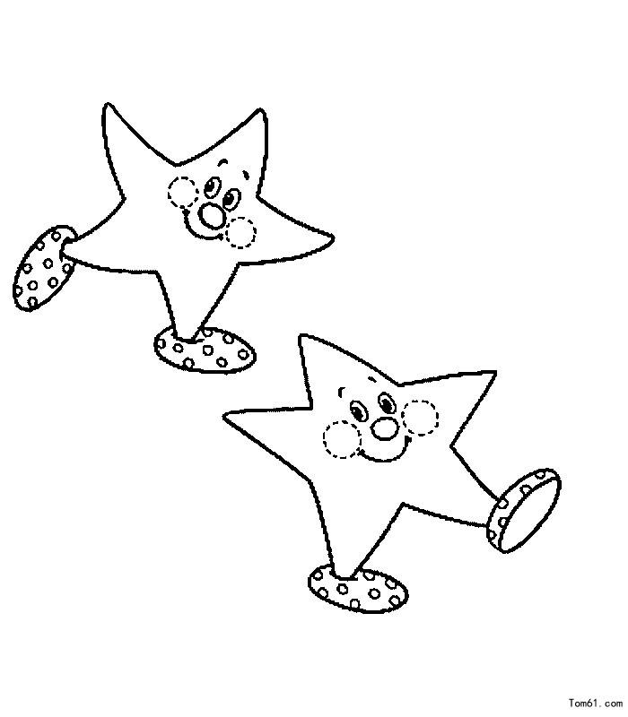 星星-简笔画图片-儿童资源网手机版