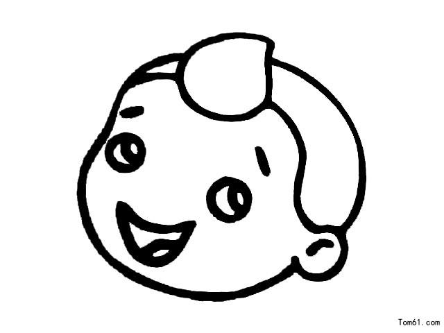 微笑-简笔画图片-儿童资源网手机版