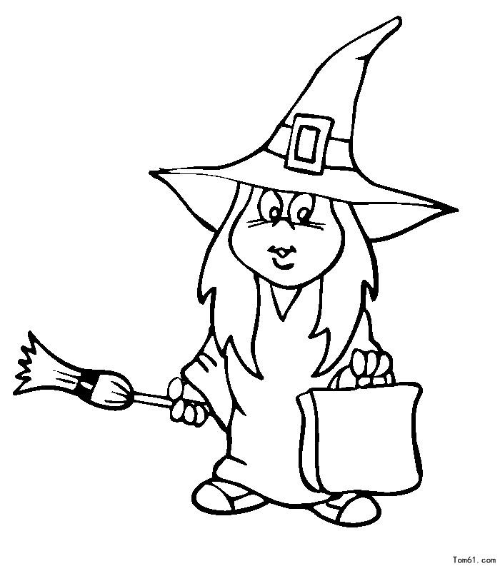 巫师-简笔画图片-儿童资源网手机版