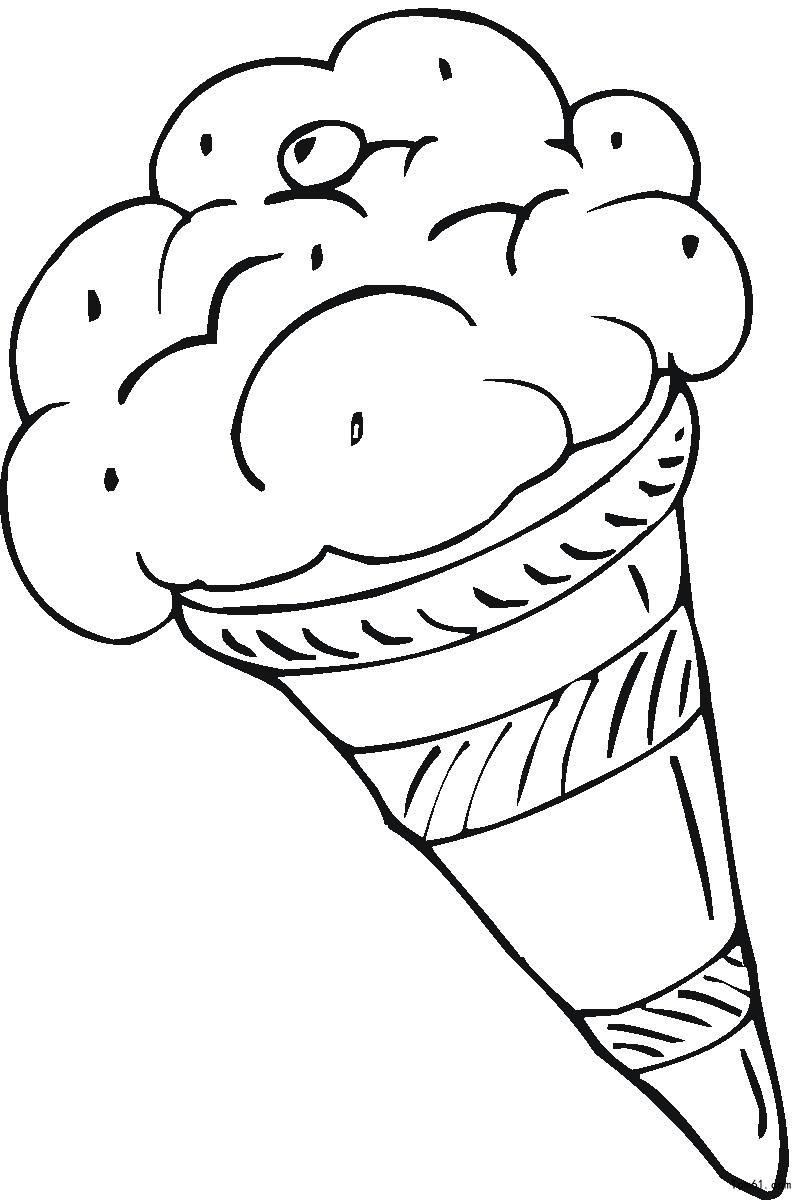 冰激凌 简笔画 图片 儿童资源网手机版