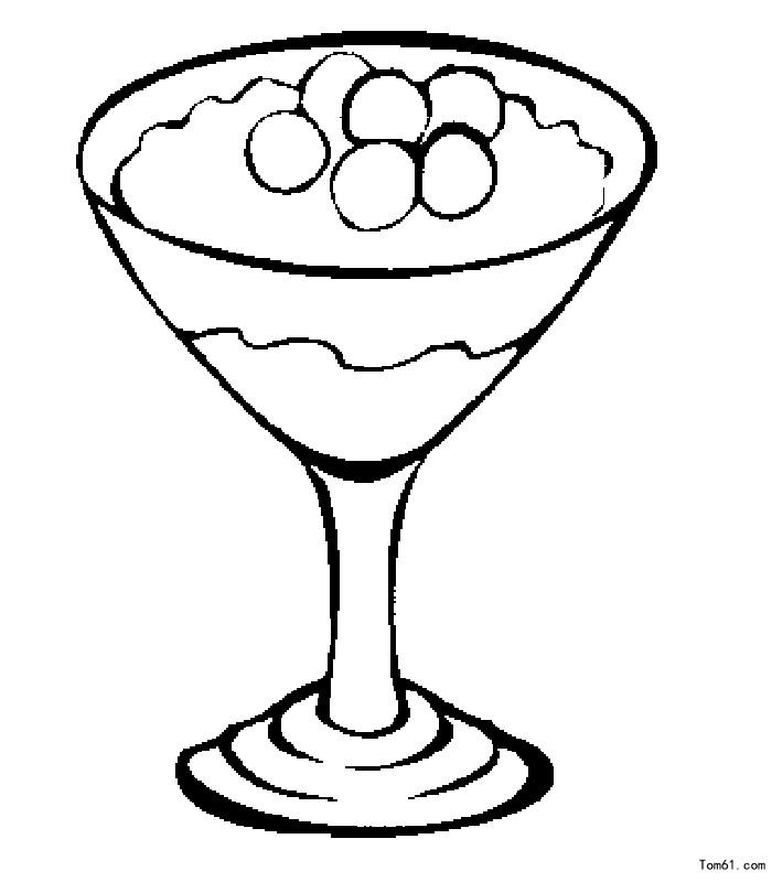 甜点-简笔画图片-儿童资源网手机版