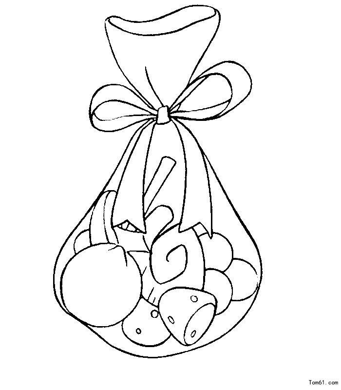 糖果-简笔画图片-儿童资源网手机版