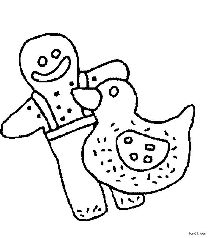 饼干-简笔画图片-儿童资源网手机版