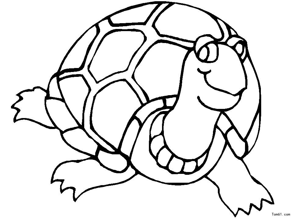 乌龟-简笔画图片-儿童资源网手机版