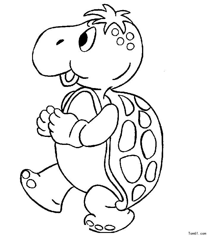 乌龟的简笔画图片大全卡通