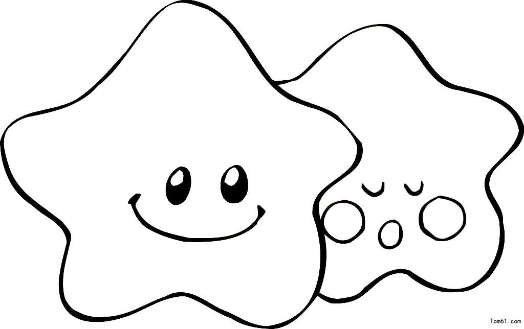 海洋生物-简笔画图片-儿童资源网手机版
