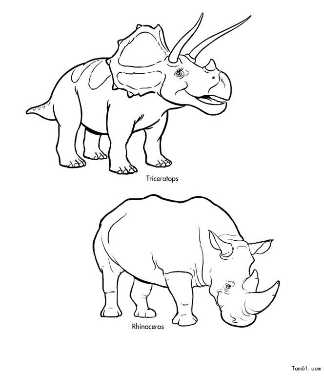 幼儿园房子简笔画 画法 恐龙