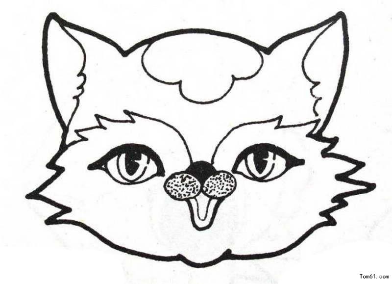 狐狸-简笔画图片-儿童资源网手机版