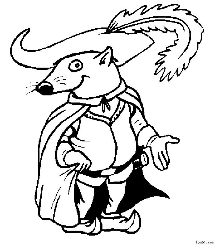 老鼠-简笔画图片-儿童资源网手机版