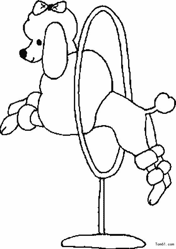 马戏团动物-简笔画图片-儿童资源网手机版
