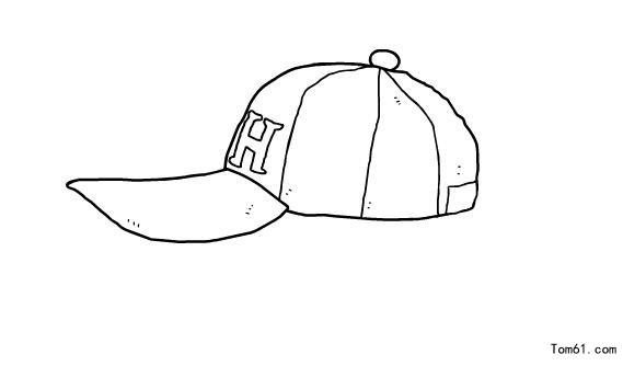 帽子-简笔画图片-儿童资源网手机版