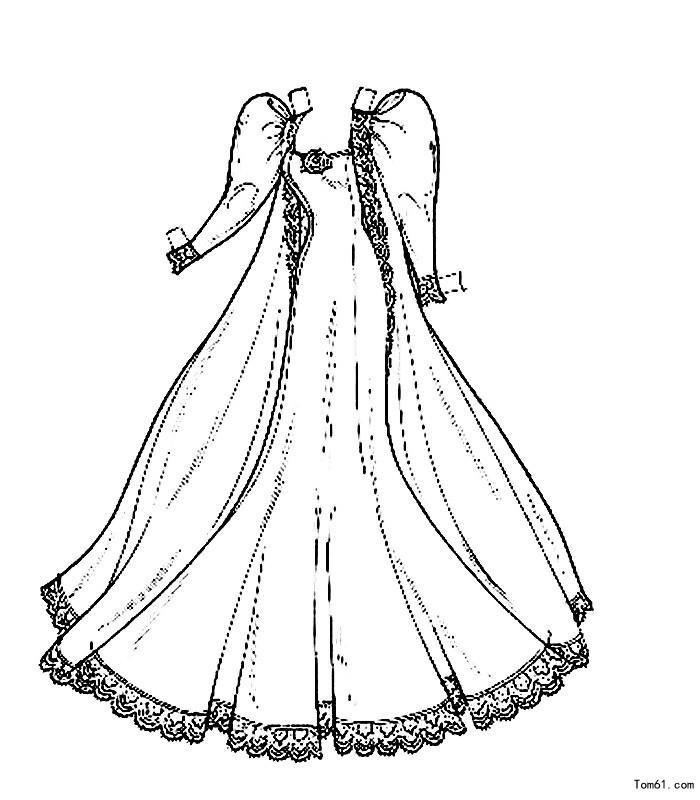 裙子-简笔画图片-儿童资源网手机版