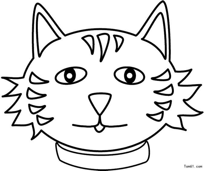面具 简笔画图片 儿童资源网手机版