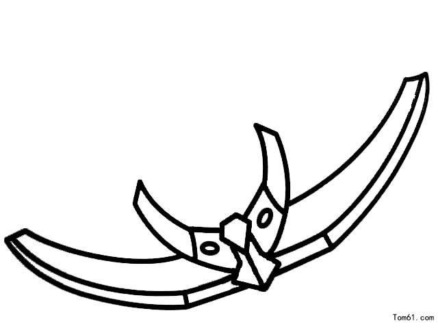 火焰铠甲简笔画